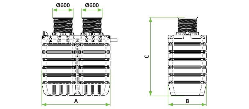 ROTO Biopročišćivač Ecobox 2-9 ES