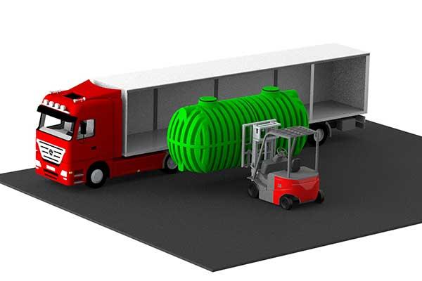 ROTO rotoeco Roterra 2450 nižji transportni stroški poceni ugodno prevoz inteligentne ekološke rešitve