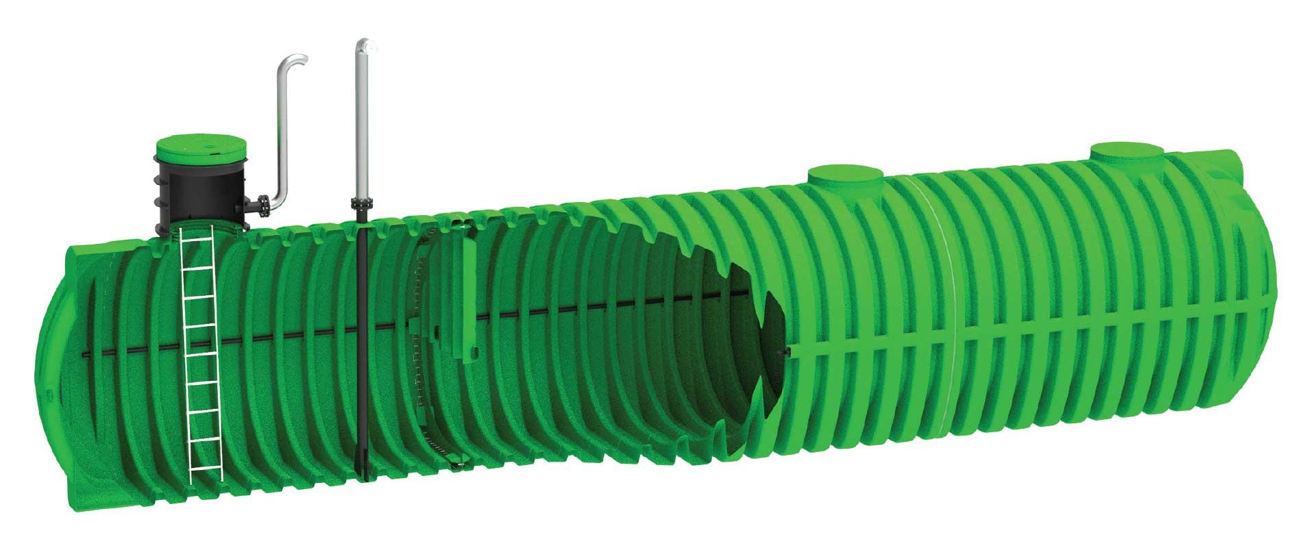 ROTO Roterra sistemi za požarno vodo rezervoarji za vodo deževnico zbiralnik ekologija voda varovanje okolja