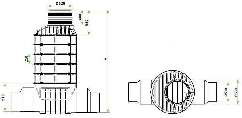 ROTO-Kanalizacijski-jaški-RoShaft-DN1000-1-1-2-dimenzije