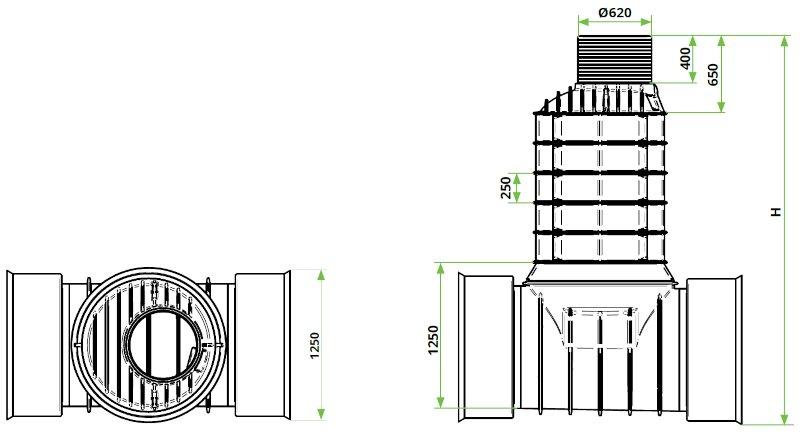 ROTO-Kanalizacijski-jaški-RoShaft-DN1000-1-1-3-dimenzije
