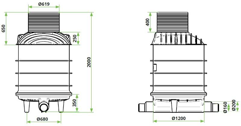 ROTO-Kanalizacijski-jaški-RoShaft-DN1000-11-31-dimenzije