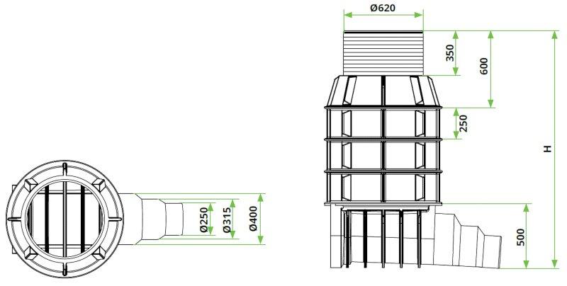ROTO-Kanalizacijski-jaški-RoShaft-DN800-1-1-dimenzije