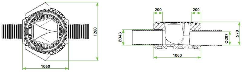 ROTO-jaški-RoShaft-dvojno-dno-DN800-3-1-dimenzijeROTO-jaški-RoShaft-dvojno-dno-DN800-3-1-dimenzije