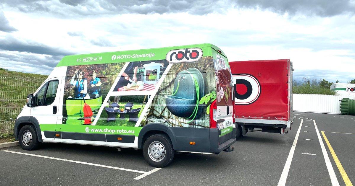 ROTO - dostavno vozilo