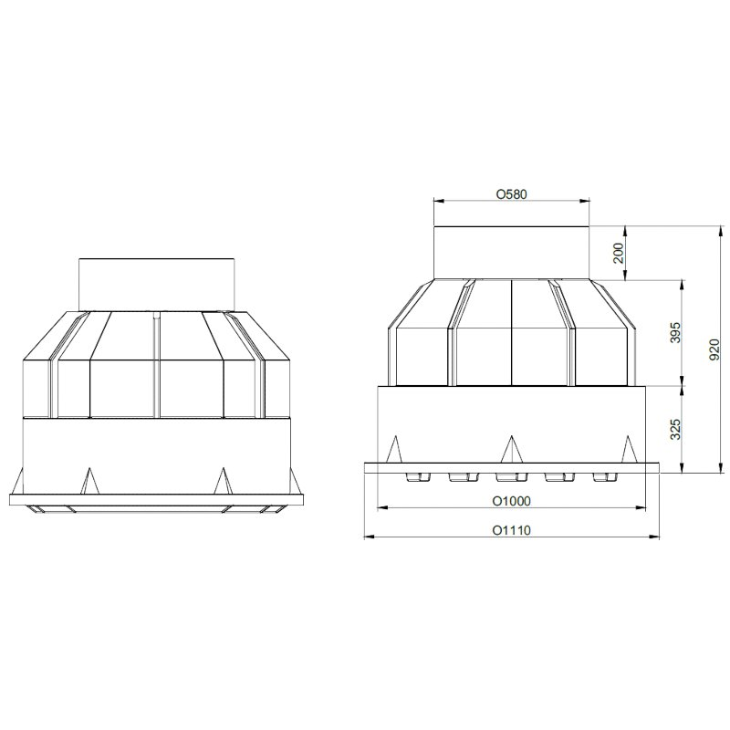 ROTO-kabelski-jasek-pkj-dn1000-dimenzije