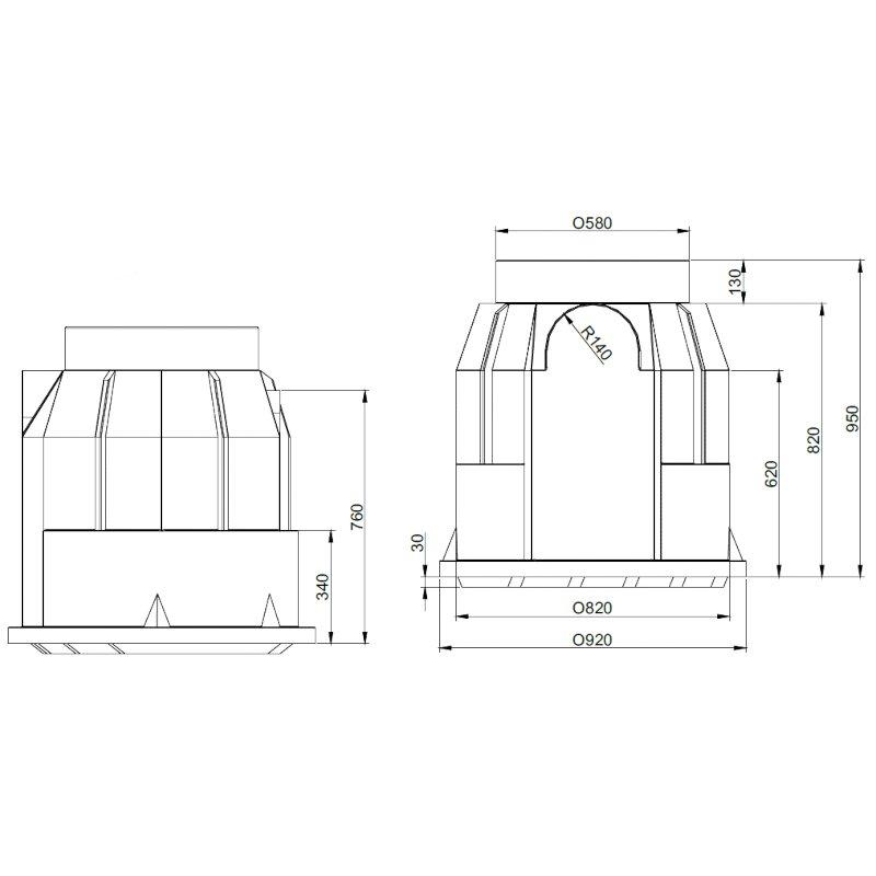 ROTO-kabelski-jasek-pkj-dn800-dimenzije
