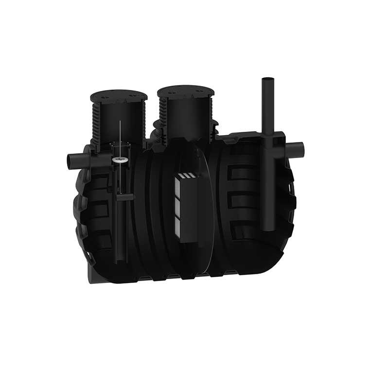 Roto lovilnik olj RoPetrol conductive NS 20 v 6000 L tip A