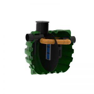 ROTO Rosep lovilci olj z bypassom 10 % NS 150 zbiralnik ekologija voda varovanje okolja