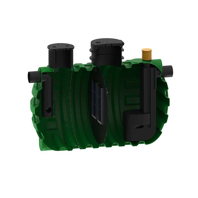 ROTO Rosep lovilci olj razred I. NS 50 zbiralnik ekologija voda varovanje okolja