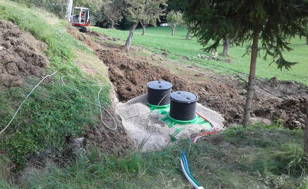 ROTO reference EcoBox čistilna naprava stanovanjska hiša Šentilj Slovenija