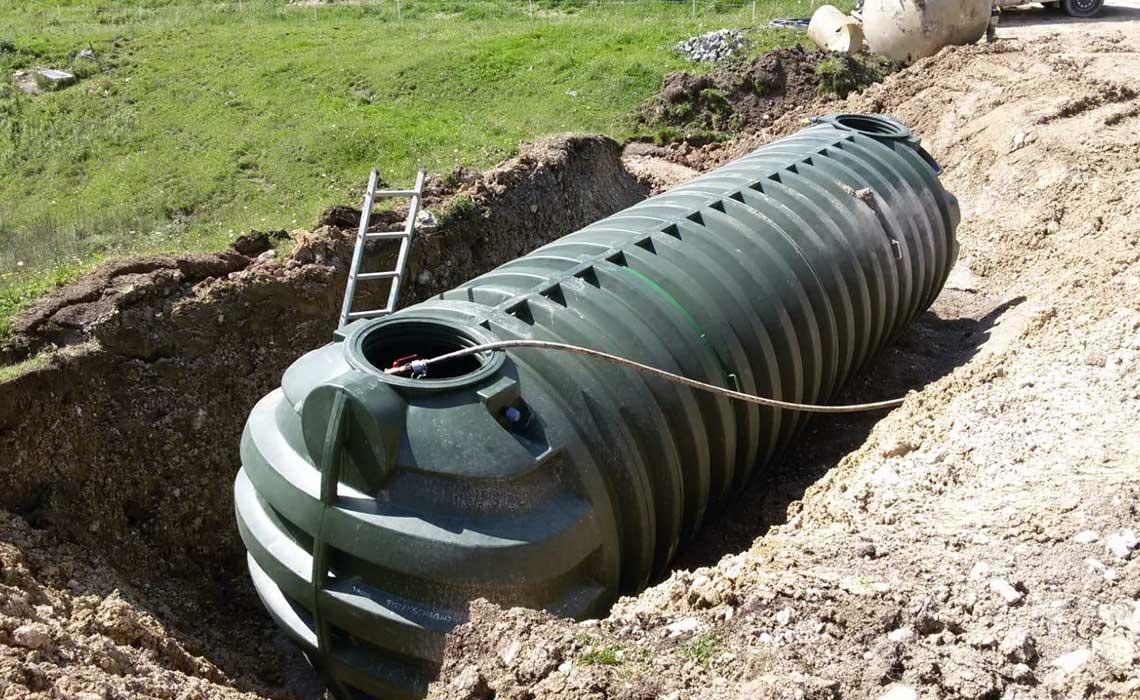ROTO reference sistemi za zbiranje deževnice vode ekologija avstrija planinska koča