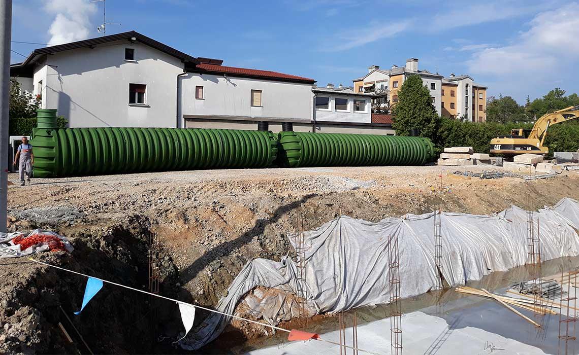 ROTO reference sistemi za požarno vodo Lidl Ilirska Bistrica Slovenija
