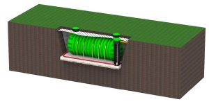 ROTO rezervoarji za deževnico hranilniki vode navodila za vkop rezervoarja visoka podtalna voda