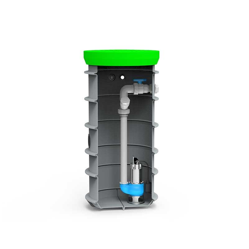 Roto RoPump hišno črpališče DN600 x 1500 pentax DG 102G