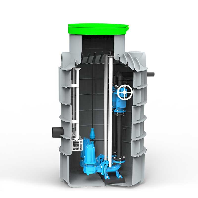 Roto RoPump hišno črpališče DN1200 x 2300 Pentax DV 200