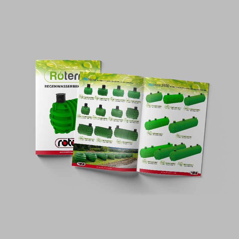 Roto Regenwasserbehalter Katalog